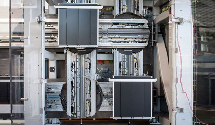 асансьорна система ThyssenKrupp Multi механизъм